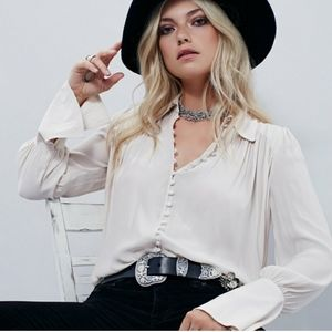 Free people modern muse blouse